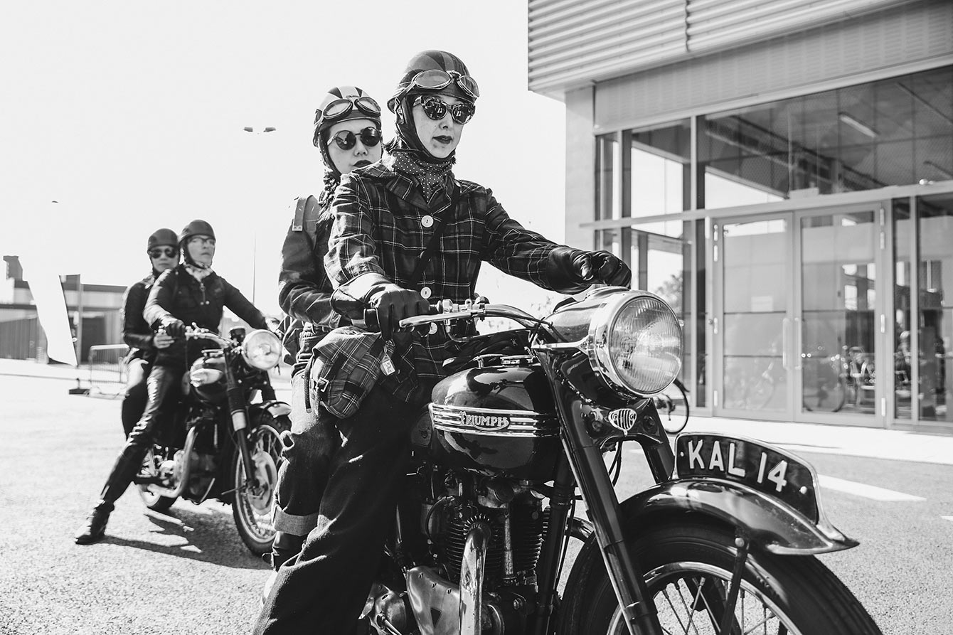 Distinguished Gentleman's Ride Photo